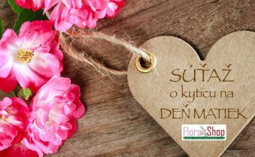 Súťaž - Flora Shop Ateliér - kvetykytice.online