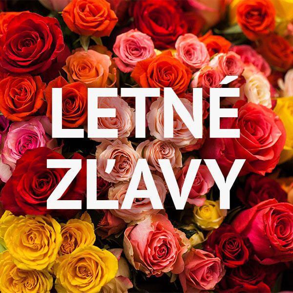 leto plné zliav - Flora Shop Ateliér - kvetykytice.online