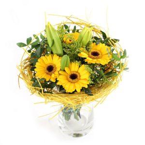 Cellow Gerberas - Flora Shop Ateliér - kvetykytice.online