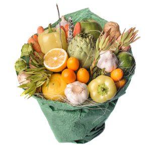 Zeleninovo-ovocná kytica - Flora Shop Ateliér - kvetykytice.online