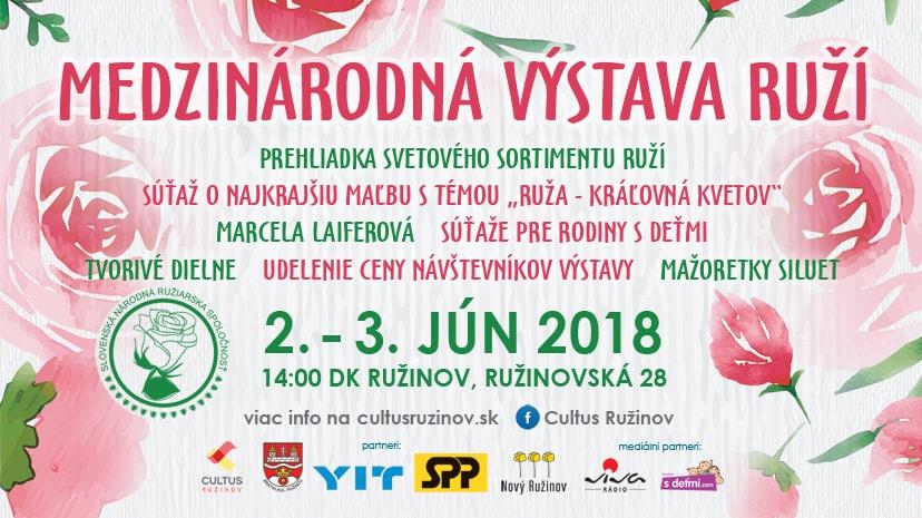 Medzinárodná výstava ruží 2018