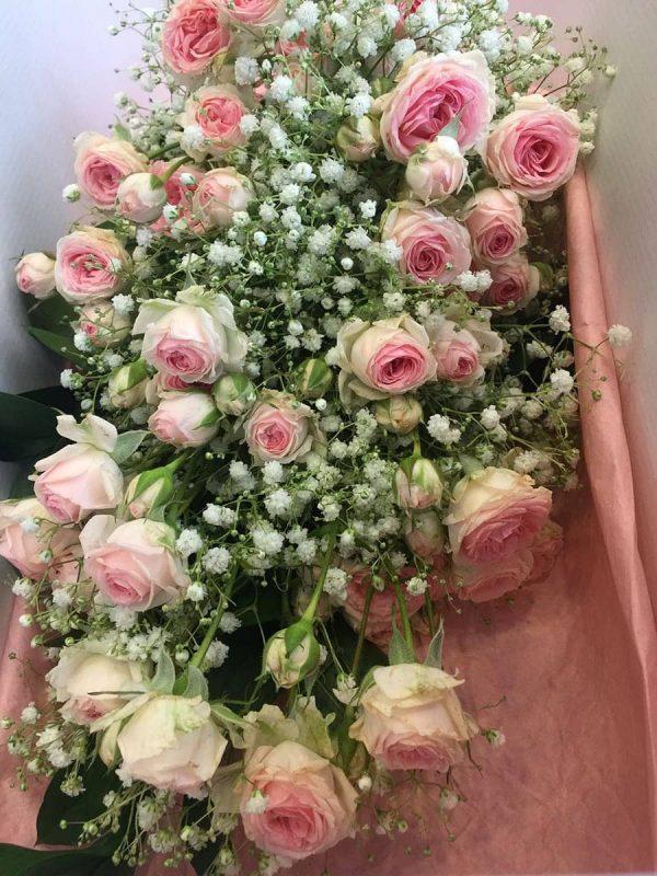 Kytica ruží - Pink Romantic