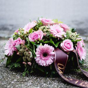 Smútočný aranžmán - Flora Shop Ateliér - kvetykytice.online