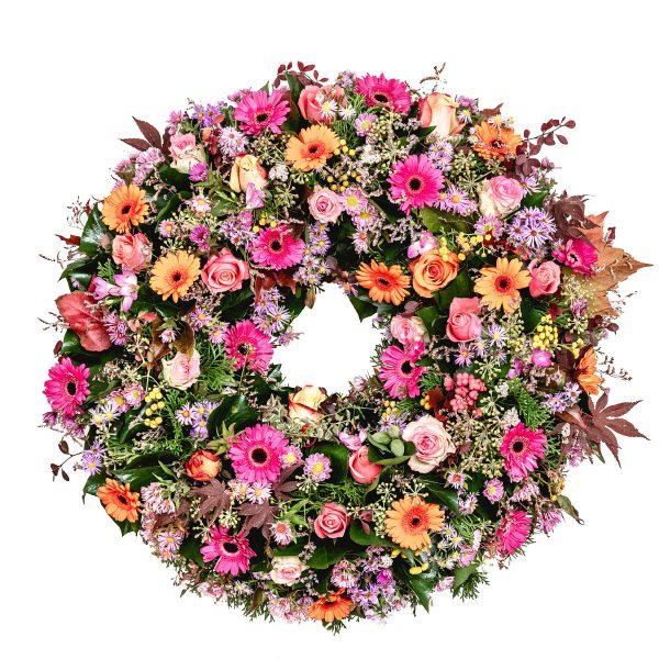 Smútočný veniec - Flora Shop Ateliér - kvetykytice.online